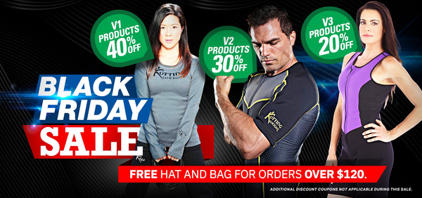 Kutting Weight Offering Unbeatable Black Friday Deals on Fitness Gear