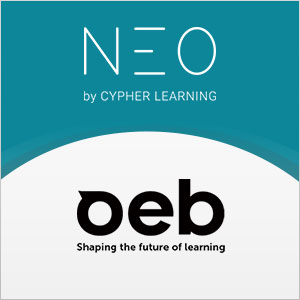 CYPHER LEARNING Showcases Education Innovation with NEO LMS at OEB 2017