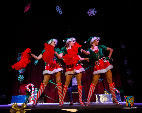 Burlesque Holiday Spectacular by Erika Moon is Coming to Town on December 16th, Be Ready for a Magical and Memorable Evening!