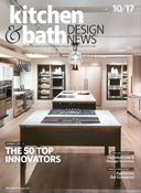 <strong>The cover of the October 2017 issue of Kitchen and Bath Design News features the KBDN 50.</strong>