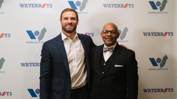 "The NFL's Chris Long Kicks-Off ""WaterSunday with the Waterboys"" in Philadelphia"