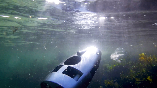 Supportive Robotics Launches Allec a True Underwater Robot for Preorder on Kickstarter