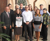 <strong>Stetson University College of Law leadership in Gulfport, Florida, launched a Disaster Research Project during the fall semester.</strong>