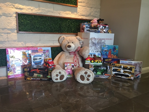 Jackson Design & Remodeling Supports the U.S. Marine Corps Reserve 'Toys for Tots' Holiday Toy Drive for 13th Year