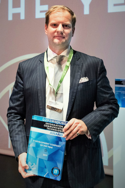 eProseed Awarded IT Development Company of the Year by the Jury of the 11th Luxembourg ICT Awards