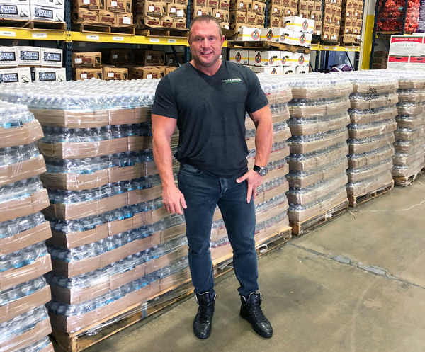 West Central Food Service Donates Trucks of Supplies to the Southern California Wildfire Relief Effort