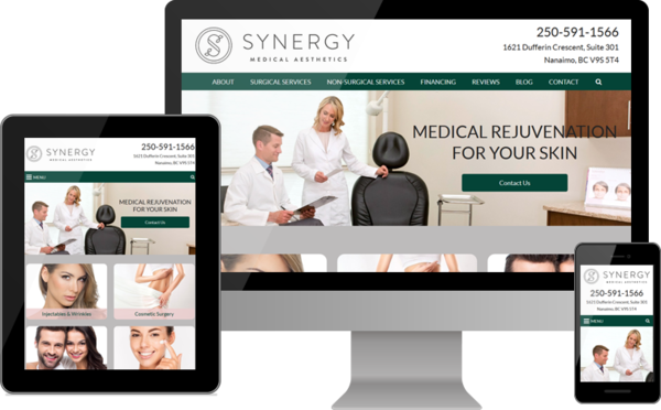 Synergy Medical Aesthetics Launches Plastic Surgery and Skin Care Website