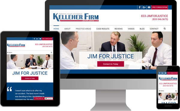 The Kelleher Firm Launches New Personal Injury Website for Clients in South Florida