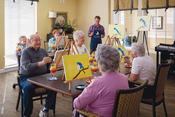 <strong>Residents of Park Meadows Senior Living enjoying the community's award-winning activities</strong>