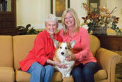 <strong>Many of Spectrum Retirement's communities are pet-friendly</strong>
