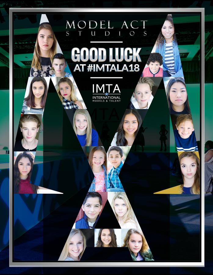 Model Act Studios Schaumburg Illinois Talent go to Los Angeles for IMTA