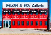 <strong>Full Service Salon Suite and Station Rentals made from shipping containers</strong>
