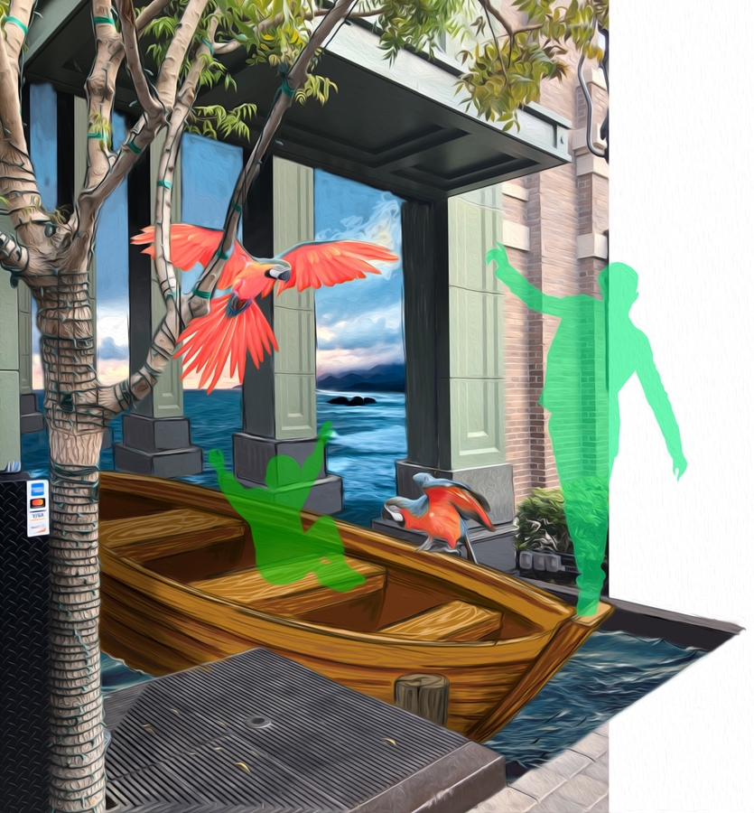Renowned 3D Creative Team to Paint Live Illusion on LINQ Promenade
