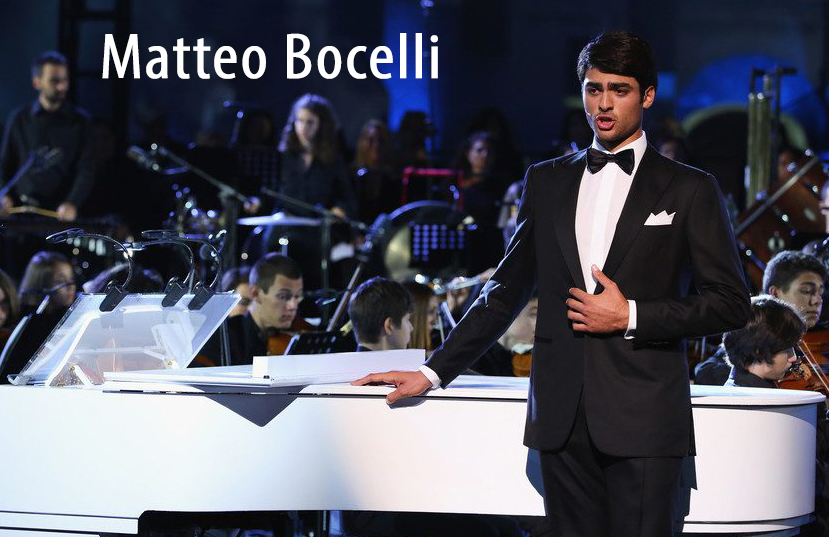 Matteo Bocelli to Headline VBFWM Concert on February 16