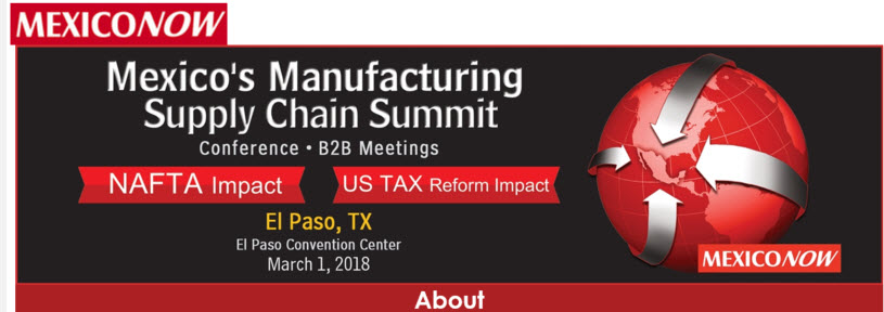 Benefits of Manufacturing in Mexico Revealed at 'MexicoNow Supply Chain Summit'