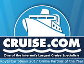 <strong>Royal Caribbean Names Cruise.com as its 2017 Online Partner of the Year</strong>