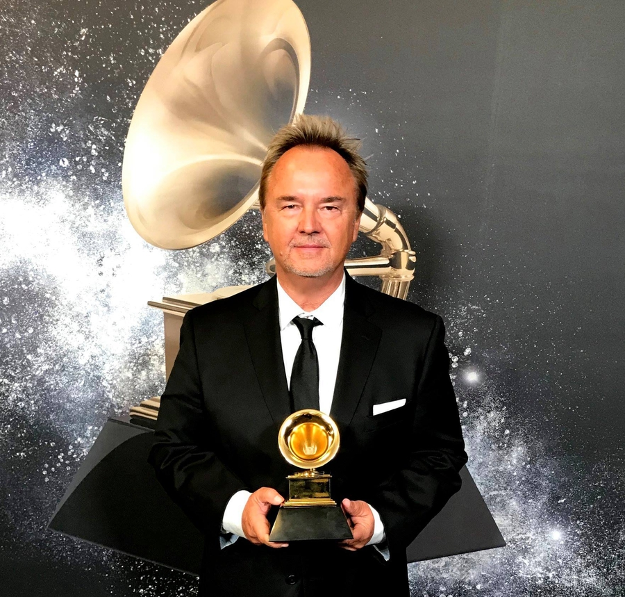 Lucky Number 13 Indeed! Pianist/Composer Peter Kater's Record, Dancing On Water, Wins the Grammy for Best New Age Album