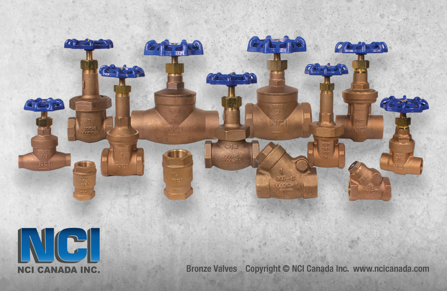 NCI Canada Launches its Newest Line of Bronze Valves