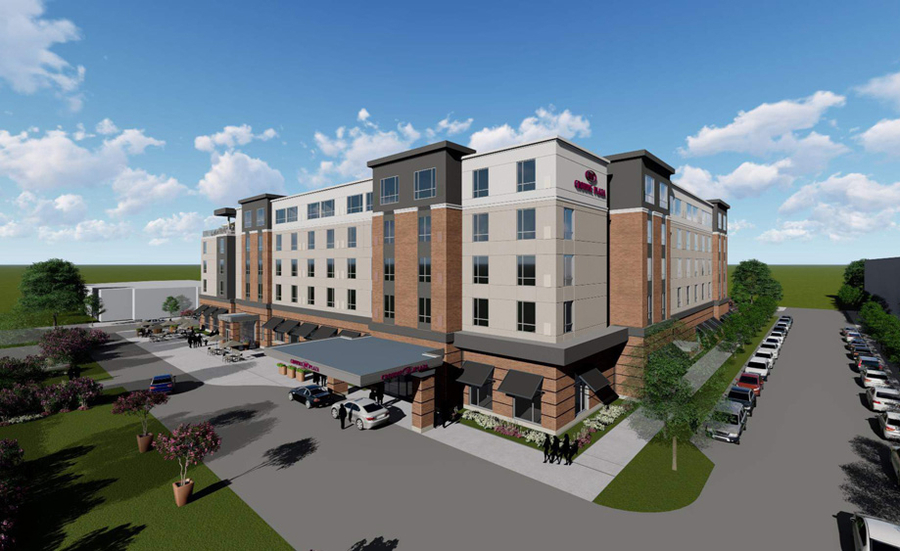 Ackerman and Greenstone Secure Financing, Sign 20-year Franchise Agreement with IHG for Crowne Plaza Riverside Village Hotel in North Augusta, S.C.