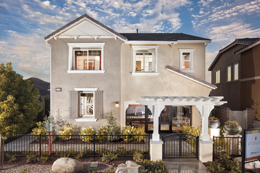 Fully Furnished, Landscaped Model Homes Now Selling at Pardee's Overlook at Canyon Hills