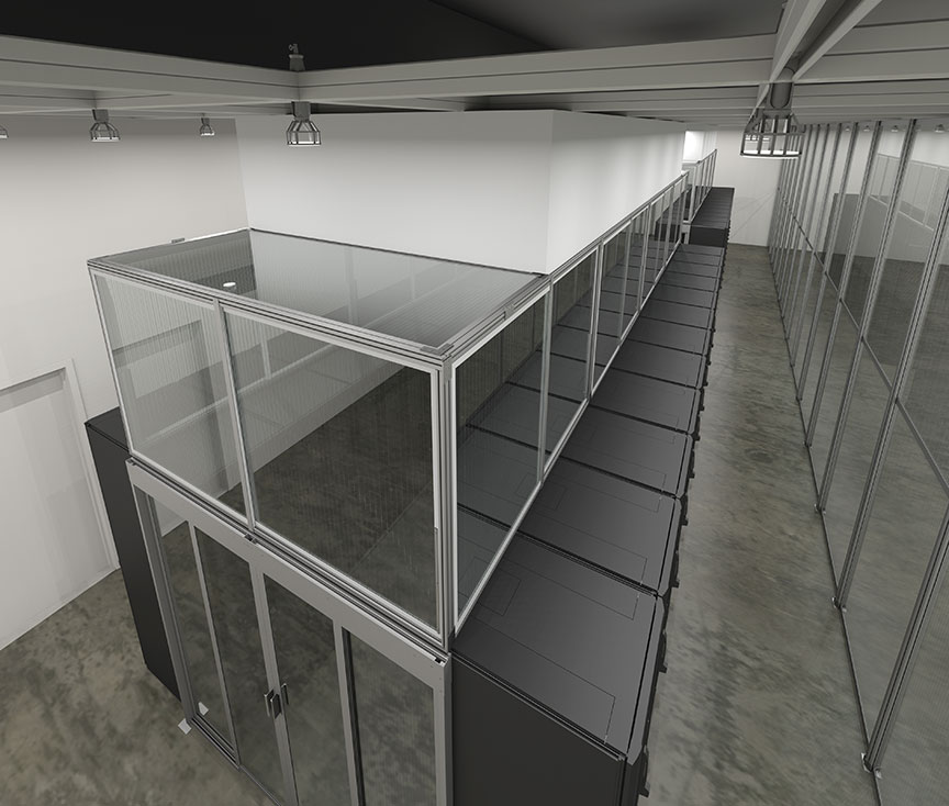 The Most Versatile Sliding Doors Ever Created For Aisle Containment in Data Centers