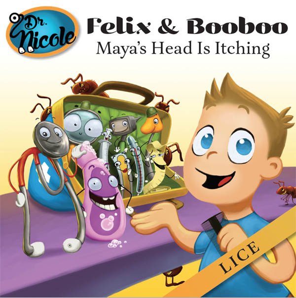 Award Winning Children's Book Author Dr Nicole Announces Latest Book In Felix And Booboo Series, 'Maya's Head Is Itching'