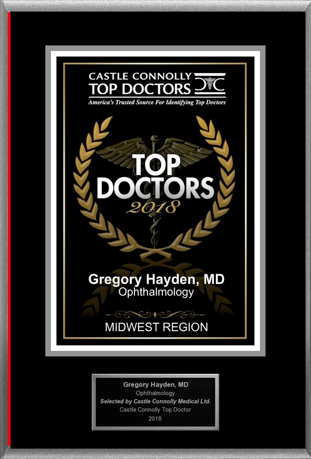 Dr. Gregory Hayden, MD is Recognized Among Castle Connolly Top Doctors for EVANSVILLE, IN Region in 2018