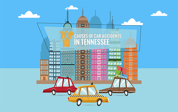 Tennessee D.O.S. Releases 2017 Study Showing Top 10 Causes Of Car Accidents In The State