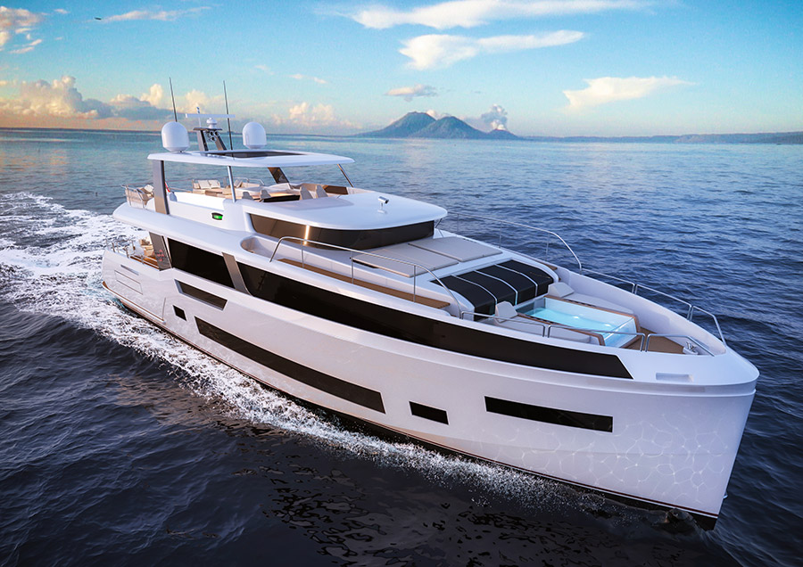 Sirena Yachts Enters the Superyacht Market with New Sirena 85 Already Under Construction