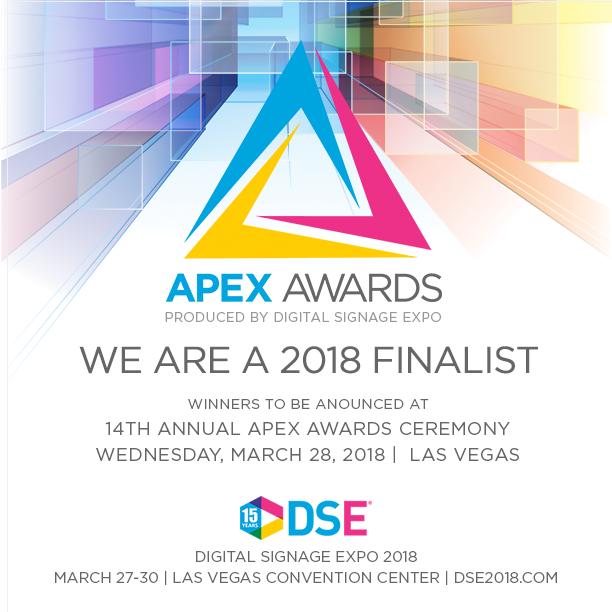 Visix Named a Finalist for DSE 2018 APEX Awards