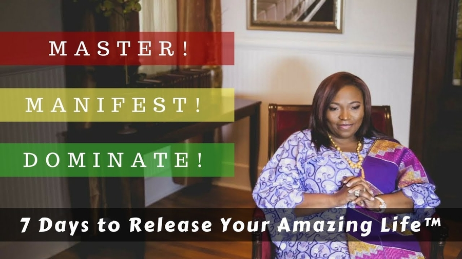An African Princess Releases Her 21st Anniversary Book Campaign: Master. Manifest. Dominate Your Amazing Life!