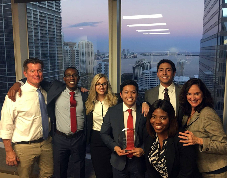 Stetson's Dispute Resolution Team Wins Vis Pre-Moot Competition, Heads to International Competition