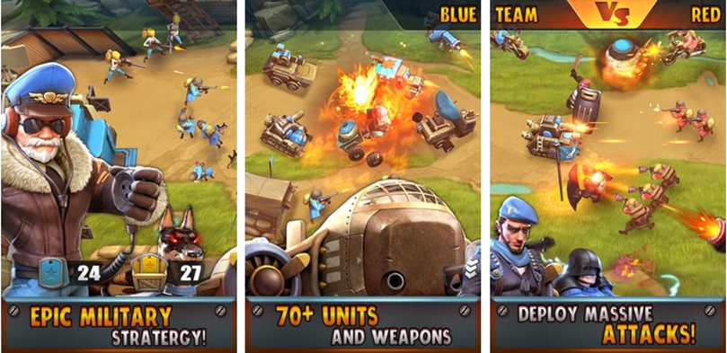 Explosive, Real-time Mobile Strategy Game Battle Boom Launches Globally Today