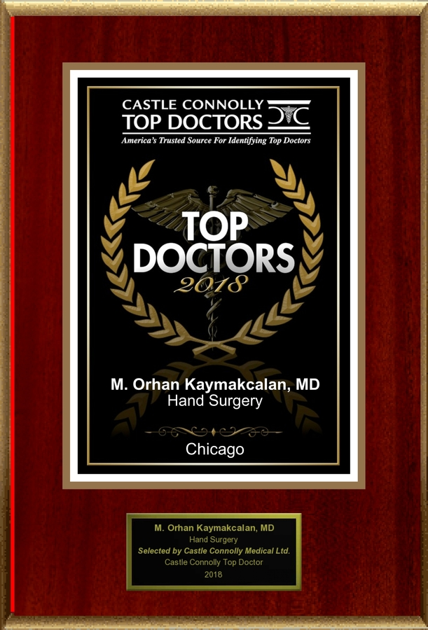 Dr. Orhan Kaymakcalan is Recognized Among Castle Connolly Top Doctors for Chicago, IL Region in 2018