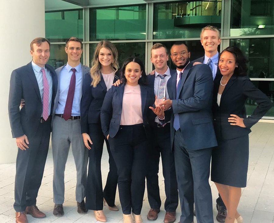 Stetson Wins Regional AAJ Student Trial Advocacy Competition