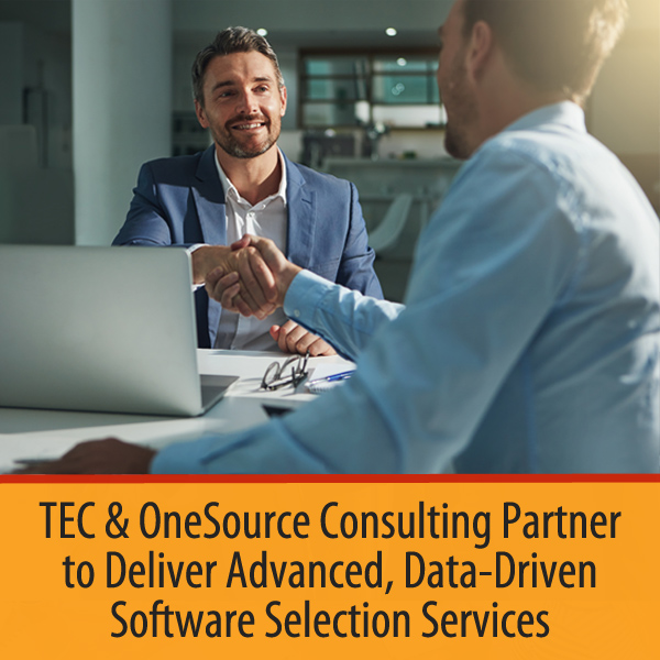 Technology Evaluation Centers and OneSource Consulting Partner to Deliver Advanced, Data-Driven Software Selection Services