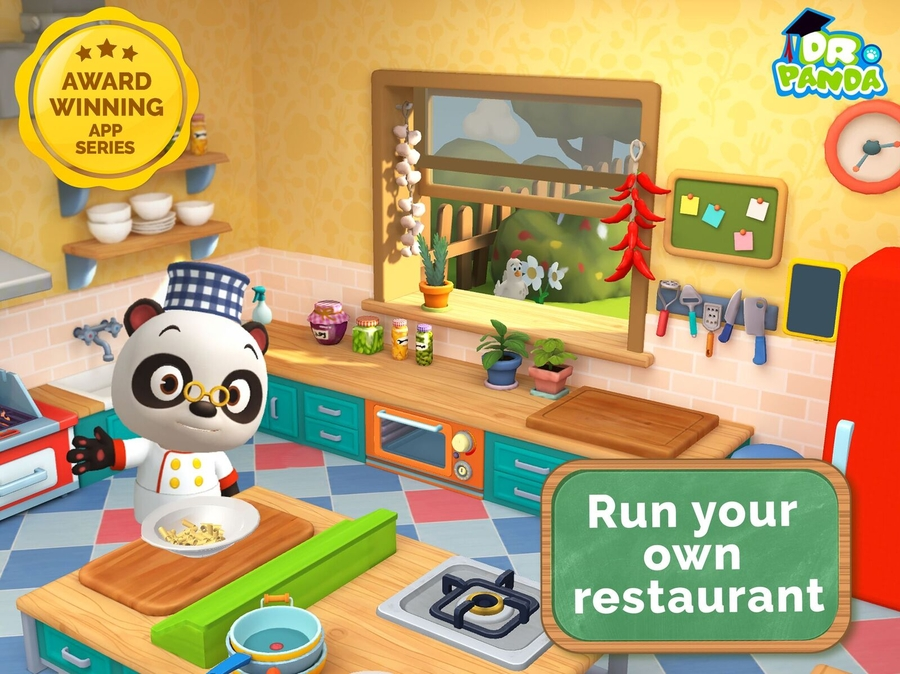 Kids Rule the Kitchen in Dr. Panda Restaurant 3!