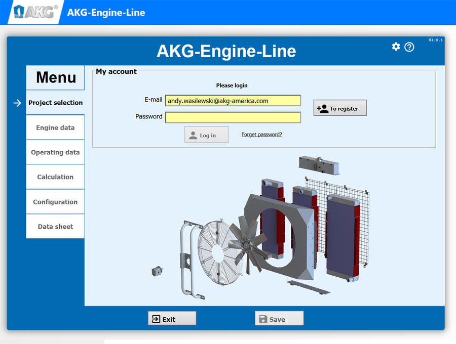 AKG of America Releases New, Internet-based Specification Application for AEL Product Line