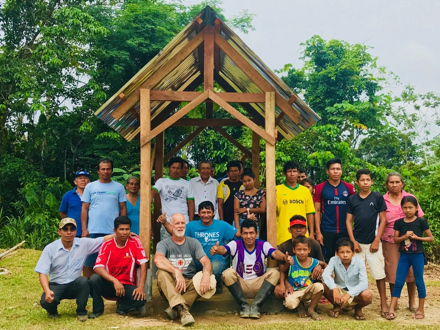 Mission Outfitter Dedicates Peruvian Fresh Water Well to Virginia Swimming Pool Builder