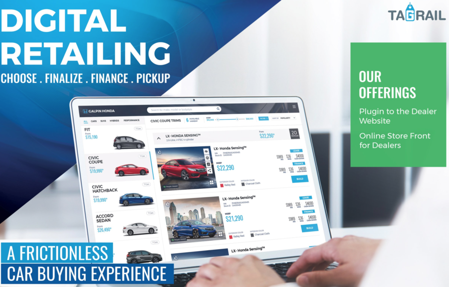 Tagrail Releases DealerTag-X at NADA: Completes There Vision of a Livingroom to Showroom Online Sales Experience