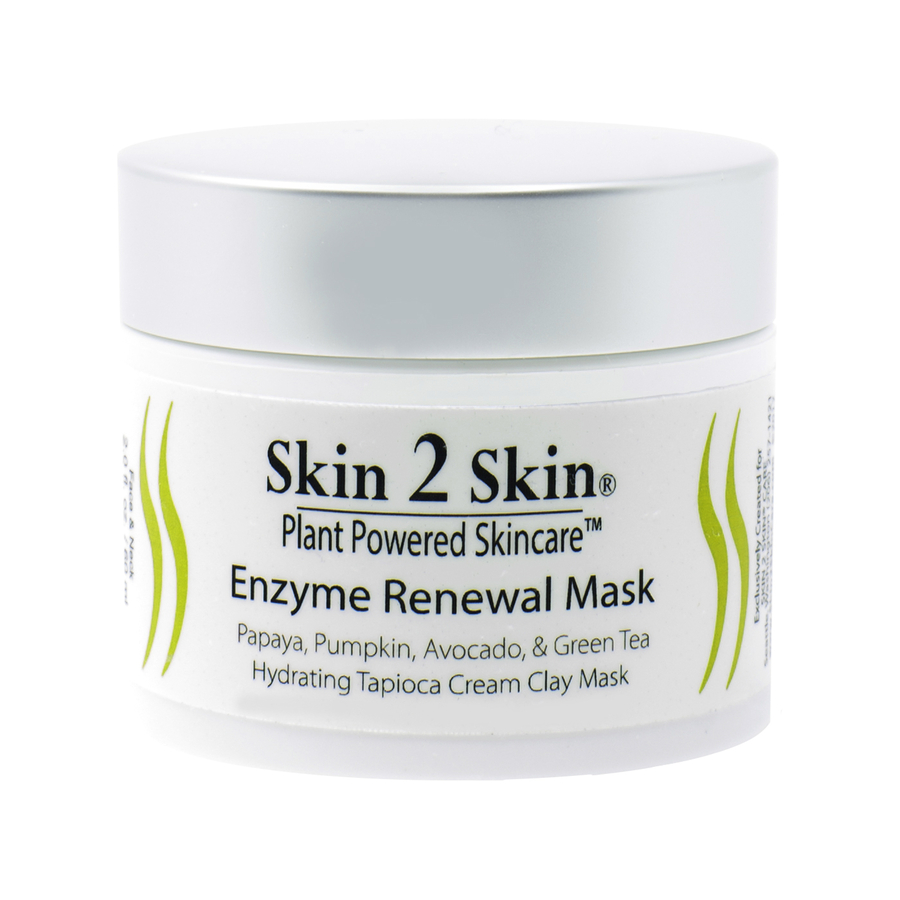 Skin 2 Skin's New Enzyme Renewal Mask Improves YOUR Skin Naturally