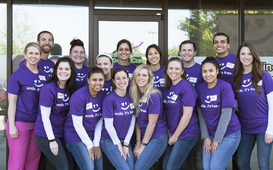 Family & Cosmetic Dental Care Spreading Free Smiles Across Suwanee for a Fourth Year