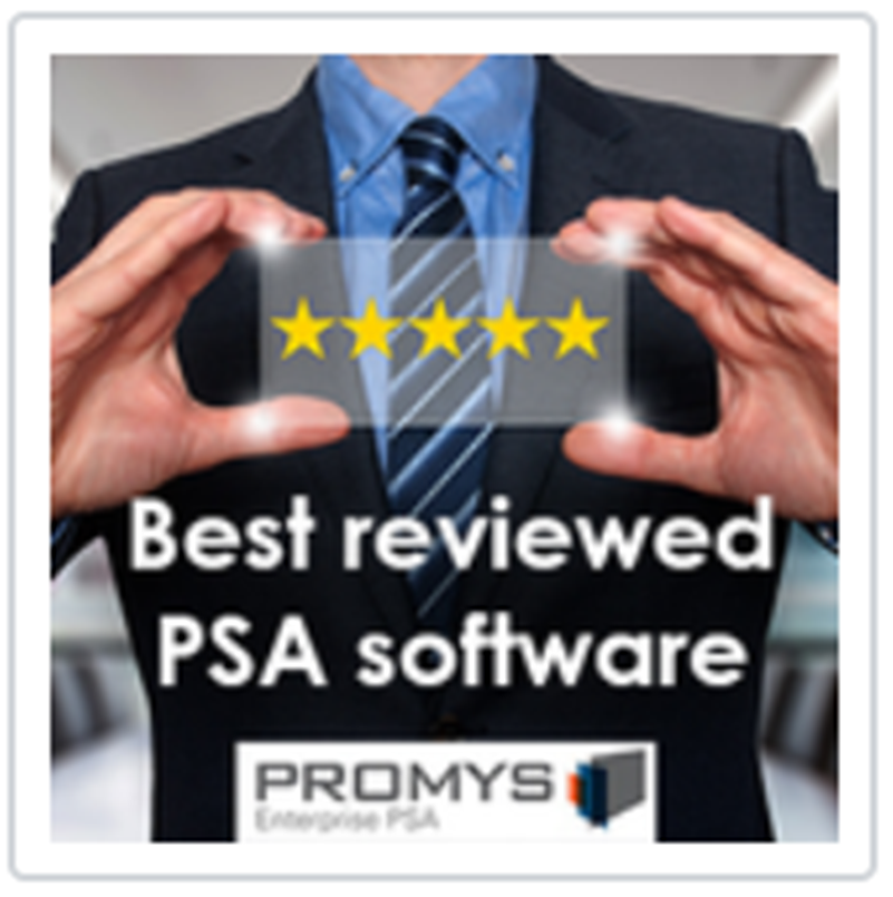 Promys PSA Business Software Releases Easy to Use and Powerful Project Management Functionality
