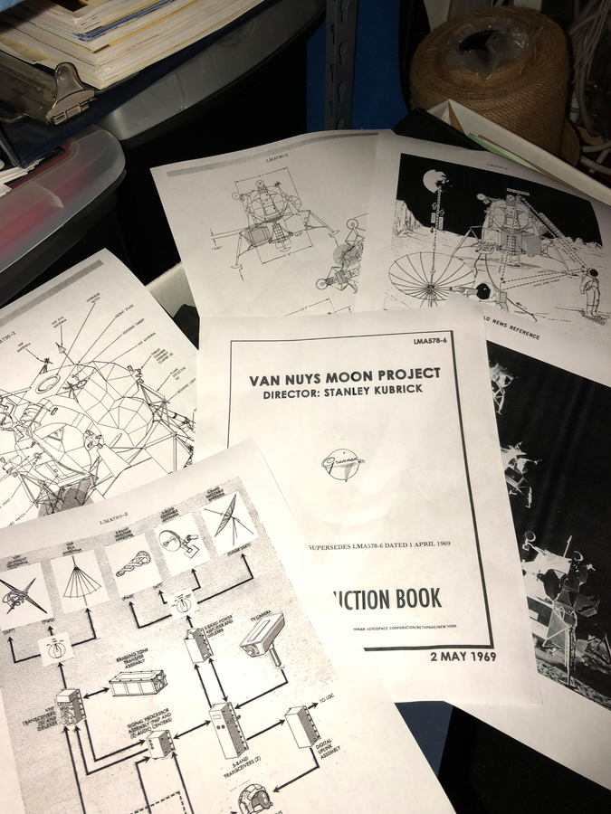 Kubrick Moon Landing Plans Unearthed In Time For 50th Anniversary Of Apollo 11