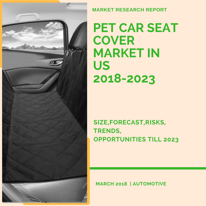 Pet Car Seat Cover Market in US 2018-2023 Size, Forecast, Risks, Opportunities Till 2023