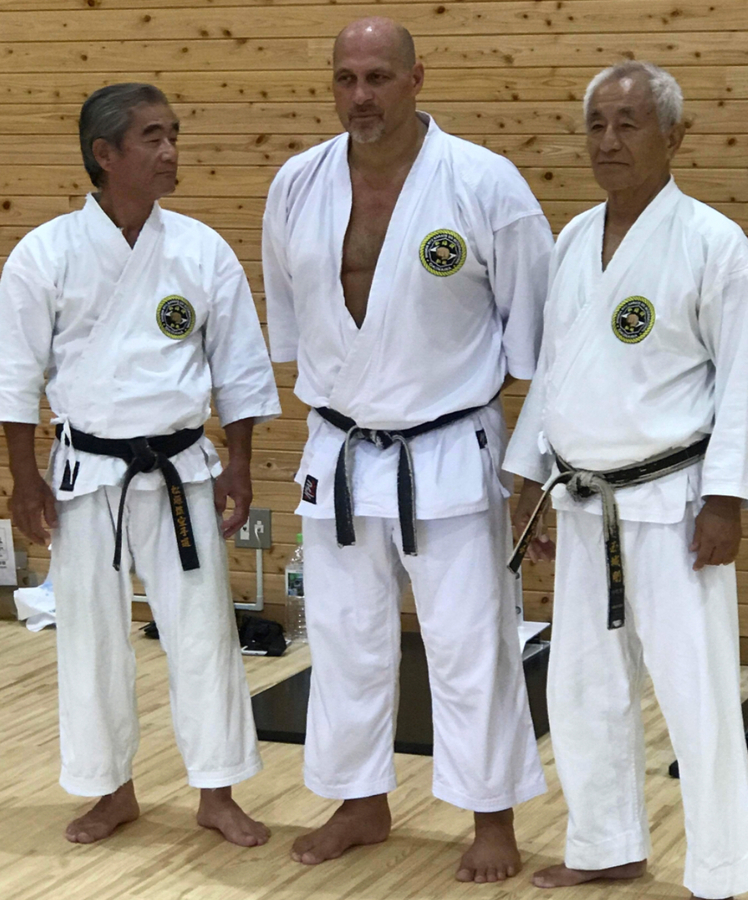 Karate Grand Master 9th Degree Black Belt Master Instructor Takeshi Tamaki Coming to America from Okinawa