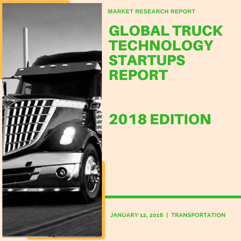 Global Truck Technology Startups-2018 Edition