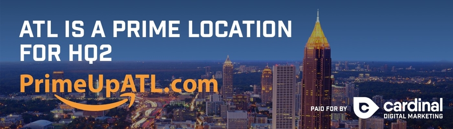 """Prime Up ATL"" Campaign to Market Atlanta as the Top Choice for Amazon HQ2"