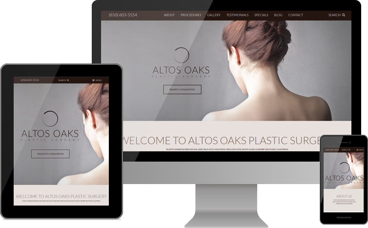 Altos Oaks Plastic Surgery Unveils New Custom Website Design