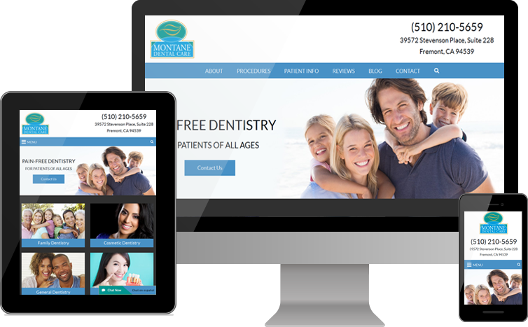 Montane Dental Care Debuts New Website for Patients in the Bay Area
